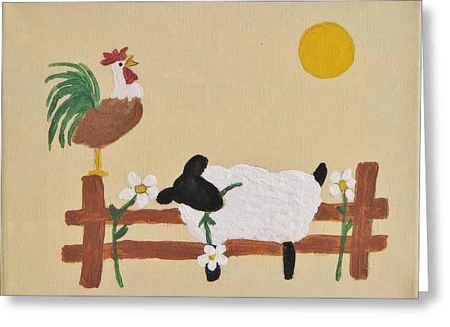 Good Morning Greeting Card by Linda Brown