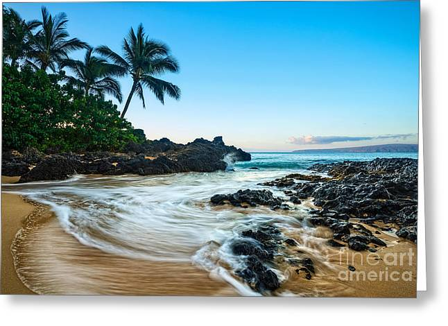 Good Morning Maui Greeting Card by Jamie Pham