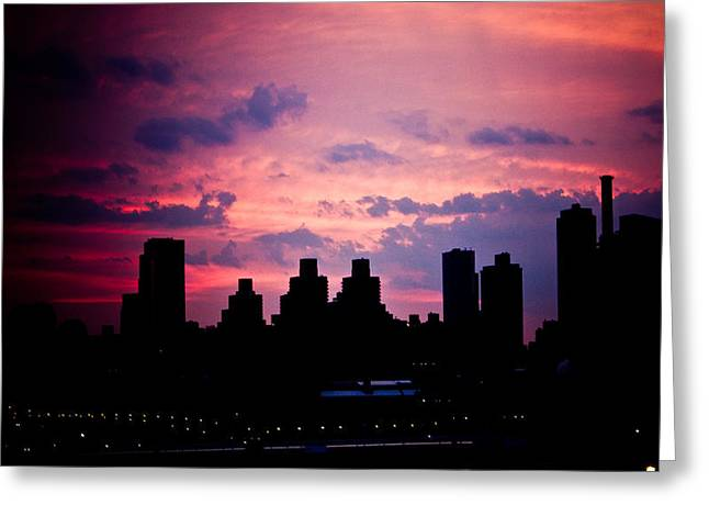 Greeting Card featuring the photograph Good Morning New York by Sara Frank