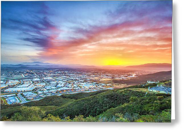 Good Morning Temecula Greeting Card