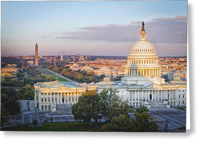 Good Morning Washington Greeting Card