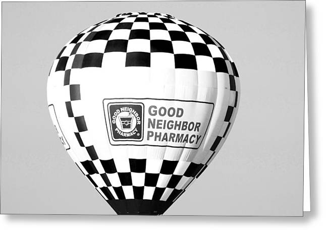 Good Neighbor Pharmacy In Infra Red Greeting Card