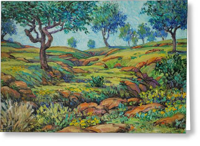 Good Pasture Poor Land For Farming Greeting Card by Henry Potwin