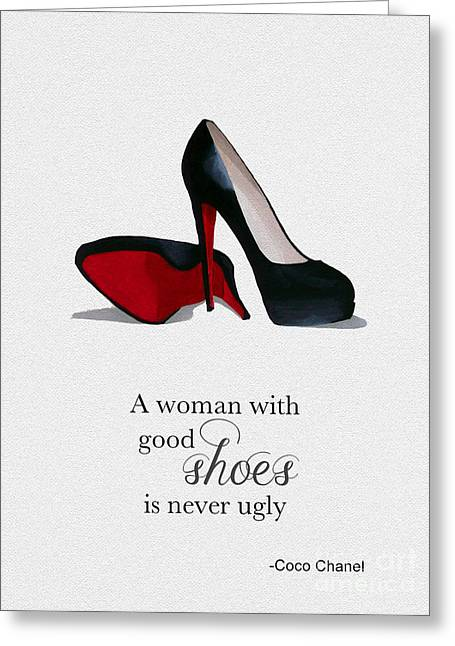 Good Shoes Greeting Card