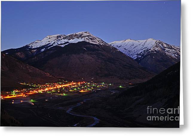Goodnight Silverton Greeting Card