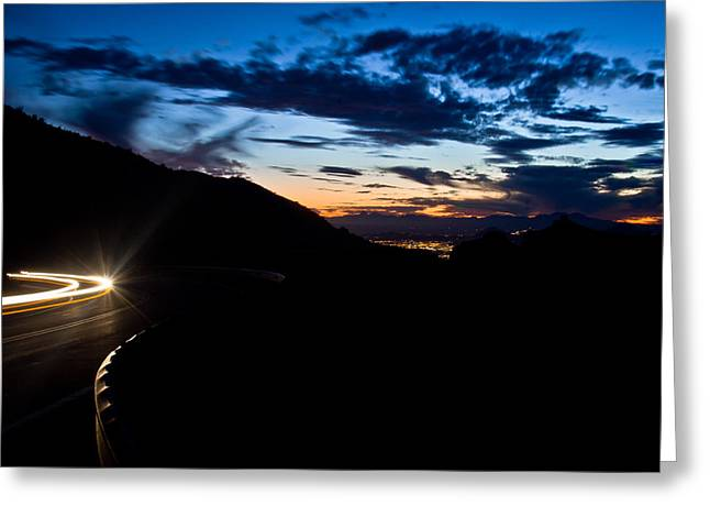 Goodnight Tucson Greeting Card by Swift Family