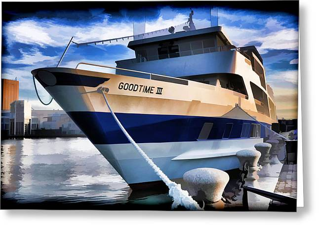 Greeting Card featuring the photograph Goodtime IIi - Cleveland Ohio by Mark Madere