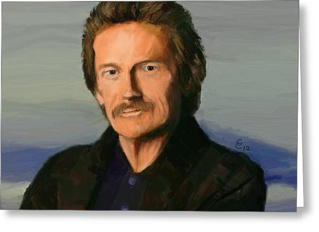 Gordon Lightfoot Greeting Card by GCannon