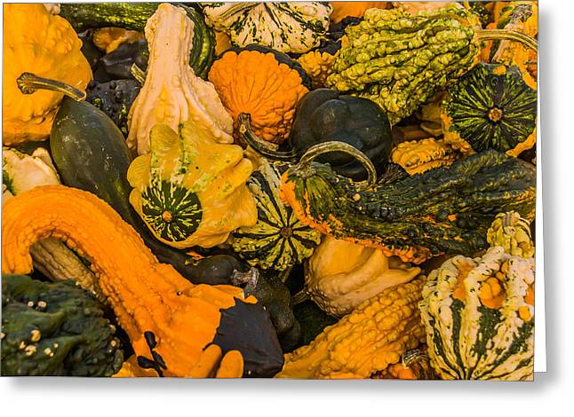 Gords Of Color Greeting Card by John Sagert