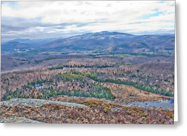 Gore Mountain North Creek Greeting Card