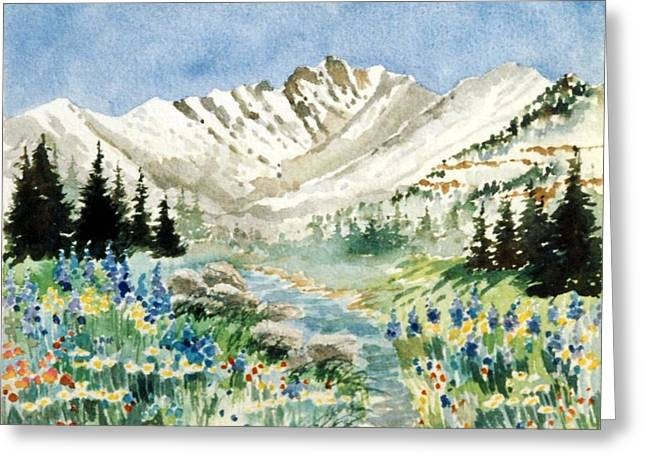 Gore Range 2 Greeting Card by Patty  Frierson