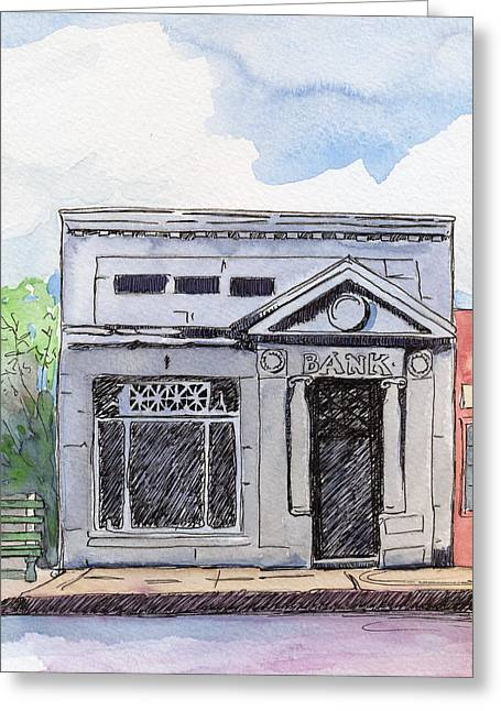 Gosport Bank Greeting Card