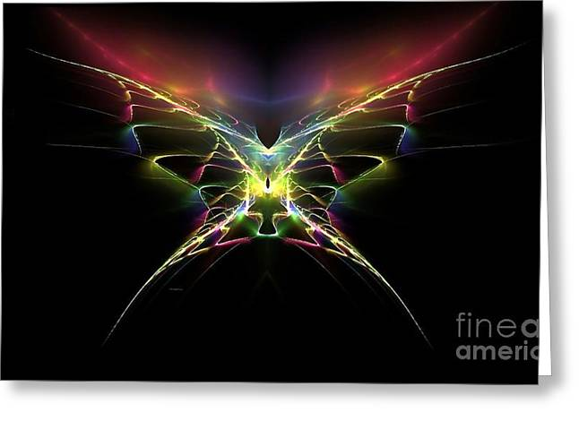 Gossamer Wings Greeting Card by Greg Moores