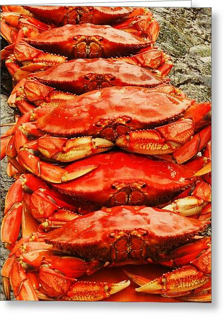 Got Crab? Greeting Card