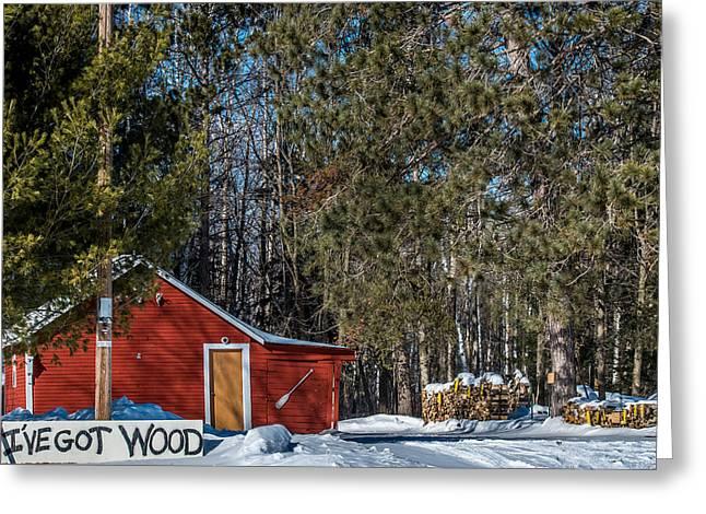 Got Wood Greeting Card by Paul Freidlund