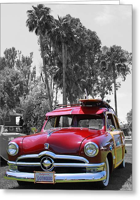 Greeting Card featuring the photograph Got Wood? by Shoal Hollingsworth