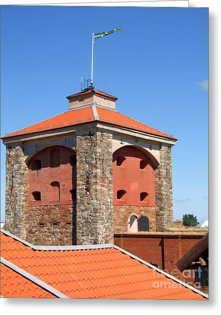 Gothenburg Fortress 03 Greeting Card by Antony McAulay