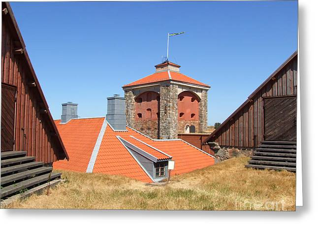 Gothenburg Fortress 05 Greeting Card by Antony McAulay