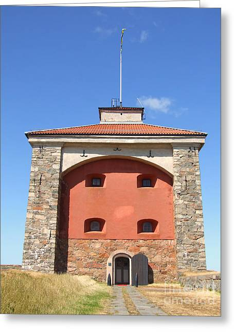 Gothenburg Fortress 07 Greeting Card by Antony McAulay