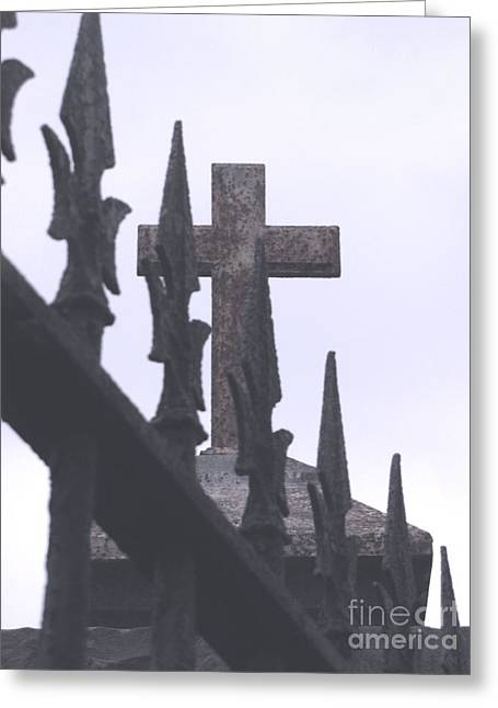 Greeting Card featuring the photograph Gothic by Melissa Stoudt
