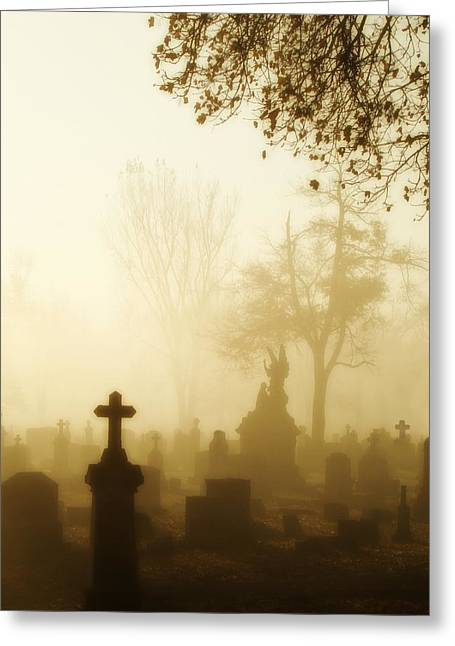 Gothic Morning Greeting Card by Gothicrow Images