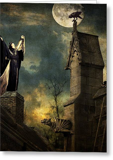 Gothic Queen Greeting Card