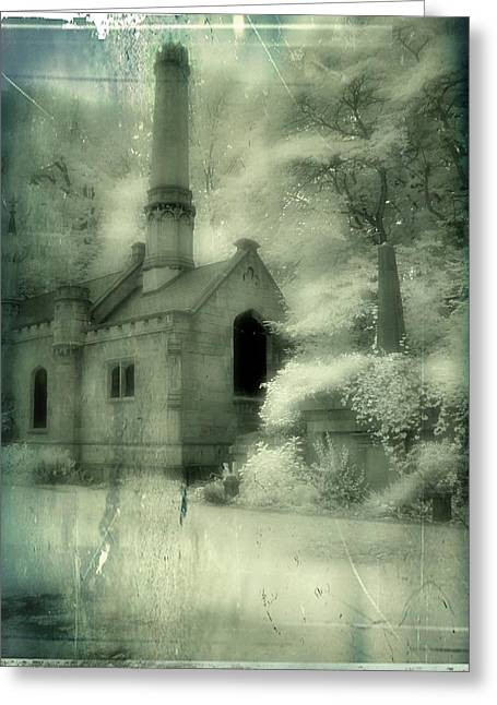 Gothic Splendor Greeting Card by Gothicolors Donna Snyder