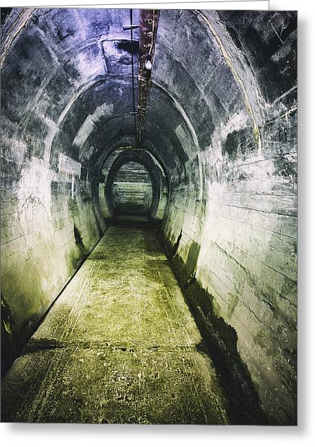 Gothic Tunnel Greeting Card