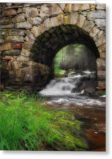 Gothic Waters Greeting Card