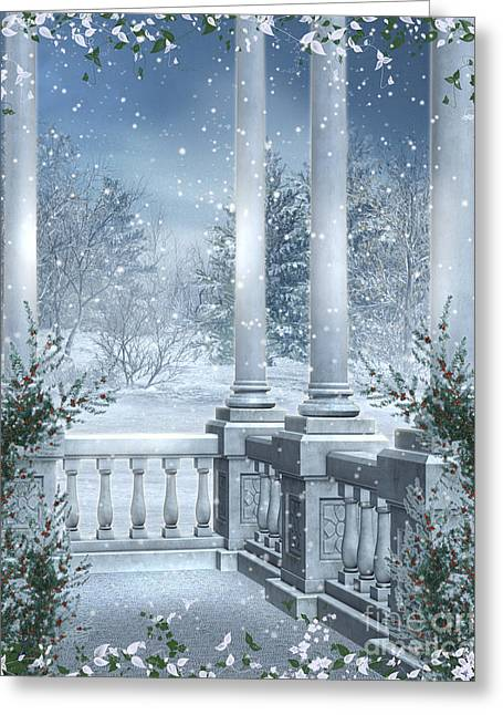 Gothic Winter Greeting Card