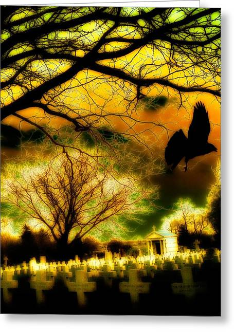 Gothic World Greeting Card