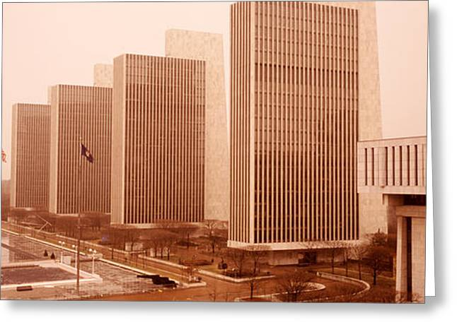 Government Center, Albany, New York Greeting Card