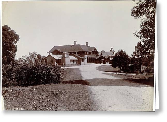 Government House In Maymyo Greeting Card