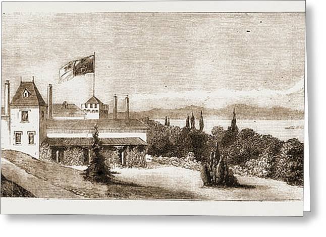 Government House, Victoria, British Columbia Greeting Card by Litz Collection