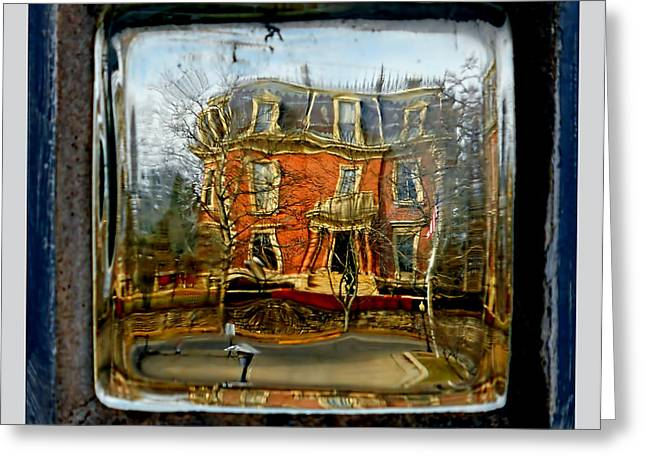 Governor's Mansion Greeting Card by Dennis Weiser