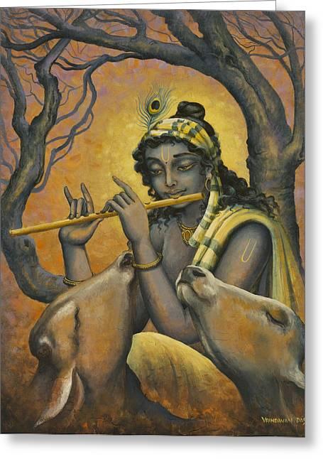 Govinda Greeting Card