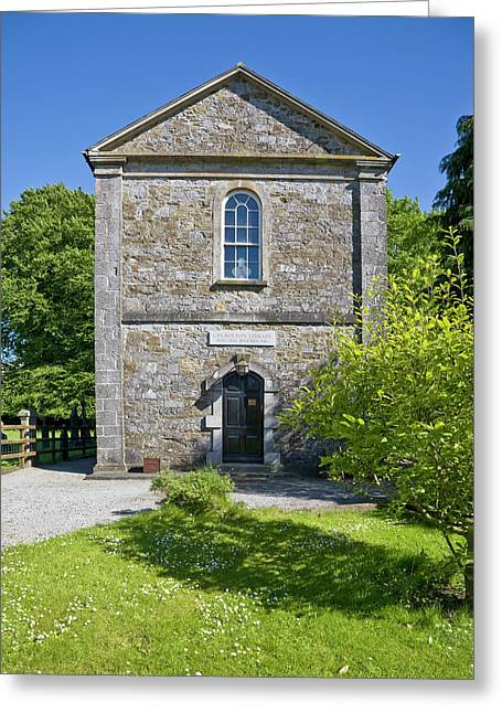Gpa Boulton Library, Built 1836 Cashel Greeting Card by Panoramic Images