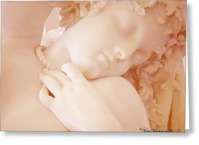 Grace Greeting Card by Gate Gustafson