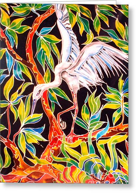 Grace In Motion Greeting Card by Julie  Hoyle