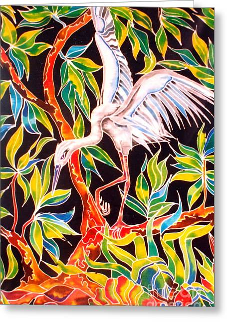 Grace In Motion Greeting Card