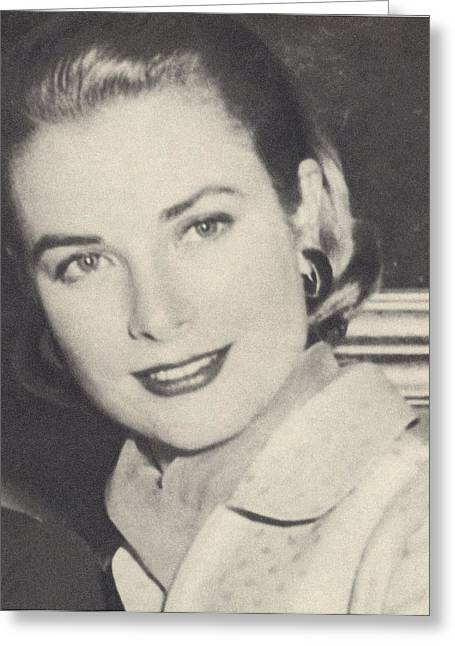 Grace Kelly 1956 Greeting Card