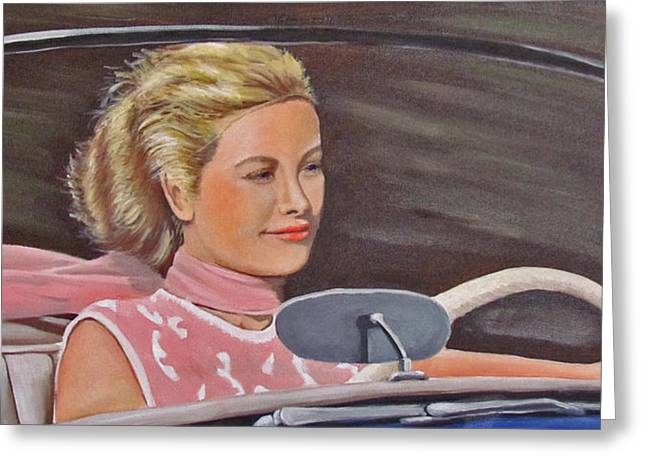 Grace Kelly - To Catch A Thief Greeting Card