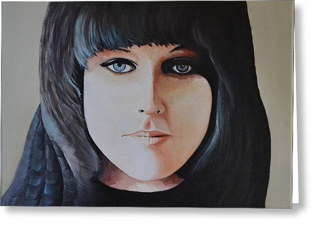 Grace Slick Greeting Card