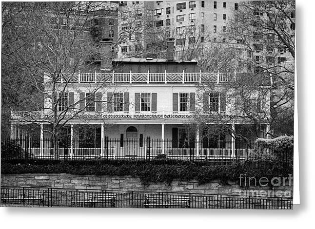 Gracie Mansion On The East River New York City Greeting Card by Joe Fox
