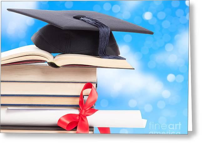 Graduation  Greeting Card by Amanda Elwell