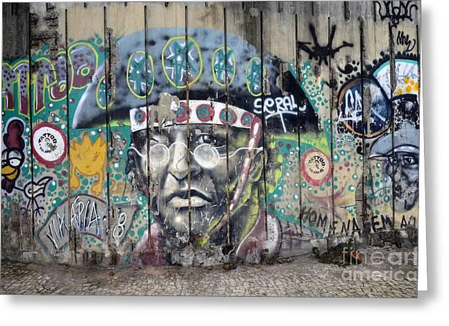 Graffiti Art Rio De Janeiro 1 Greeting Card