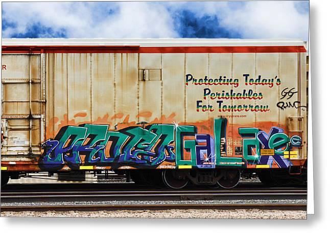 Graffiti - Galaxee Greeting Card