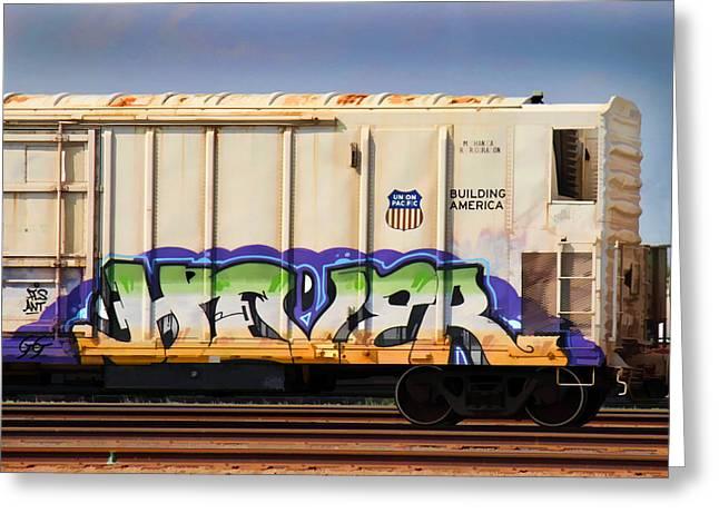 Graffiti - Hover Greeting Card