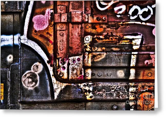 Graffiti II Greeting Card by Alana Ranney
