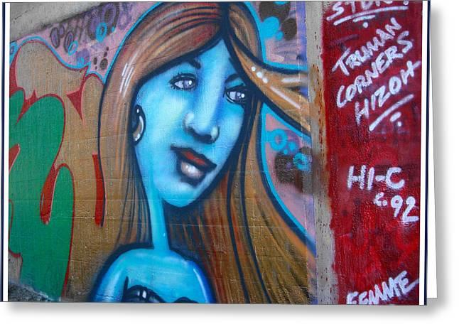 Graffiti Kansas City 6 Greeting Card
